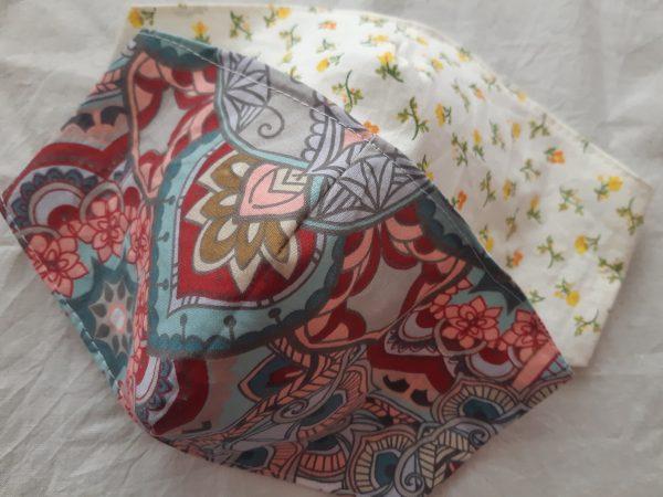 Textilné Rúško s gumičkou - Dospelý (zobáčik) 1