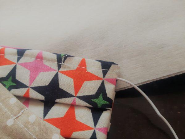 Perlan - netkaná textília 1