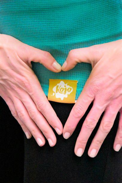Tričko na dojčenie s modalom KOJO - Green Lagoon / krátky rukáv 2
