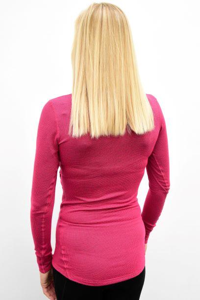 Tričko na dojčenie s modalom KOJO - Juici Raspberry / dlhý rukáv 2
