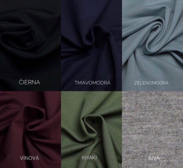 Šaty DALIA  - farebné verzie 5