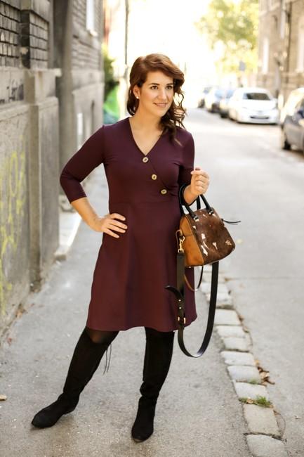 Šaty DALIA  - farebné verzie 2