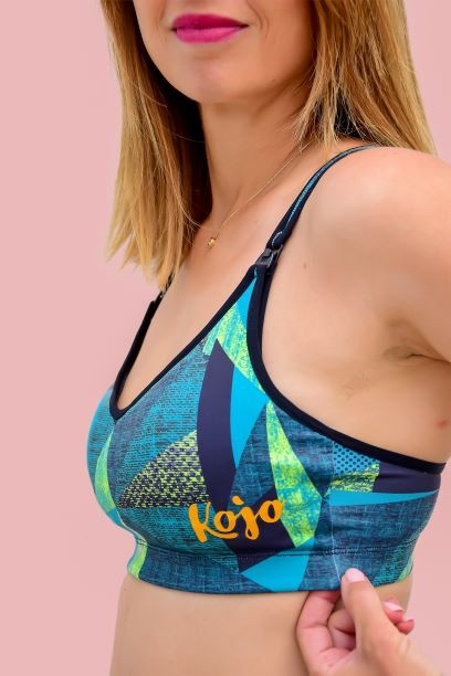 Športová podprsenka na dojčenie KOJO - Jungle 2