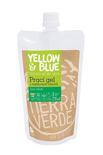 Prací gél z mydlových orechov bez vône 250 ml 1