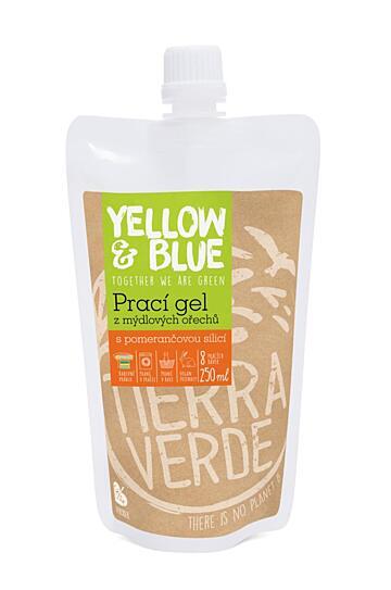 Prací gél z mydlových orechov s pomarančovou silicou 250 ml 1