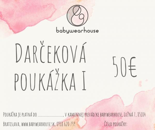Darčeková poukážka Babywearhouse I 2