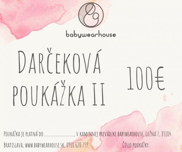 Darčeková poukážka Babywearhouse II 3