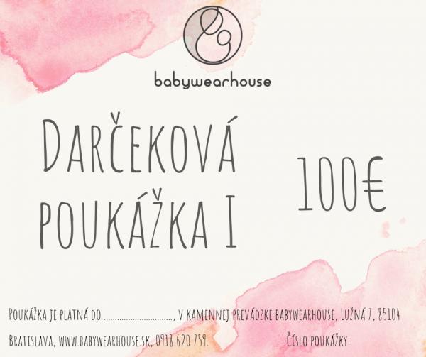 Darčeková poukážka Babywearhouse I 3