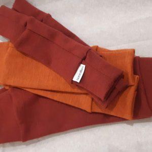 Detské merino tričko (krátky rukáv) krémové 2