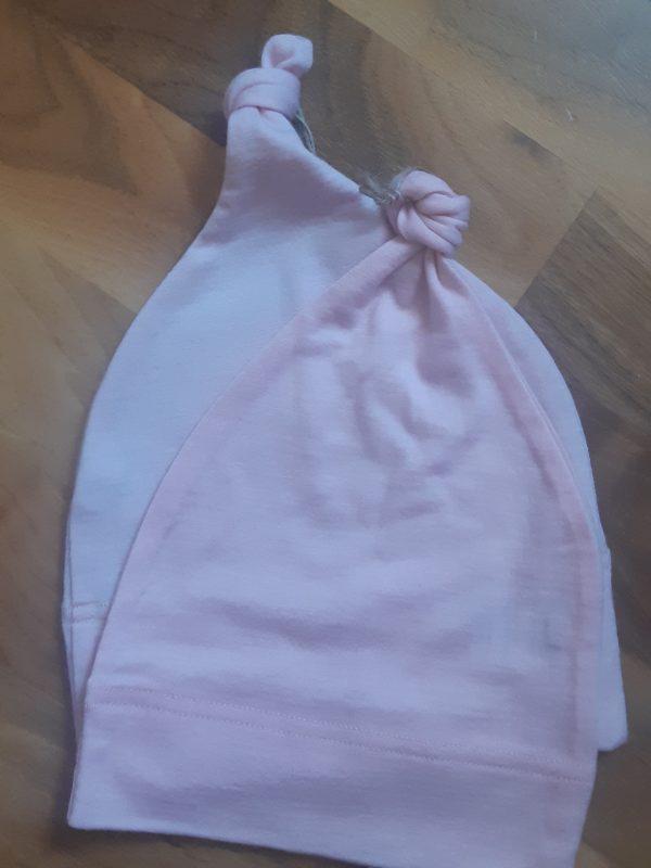 Detská rastúca merino čiapka so štýlovým uzlíkom - farebné varianty 3