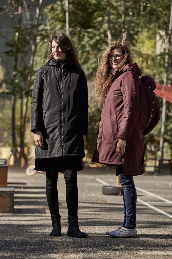Nosiaci zimný kabát so zipsami a reflexnými prvkami 4v1 1