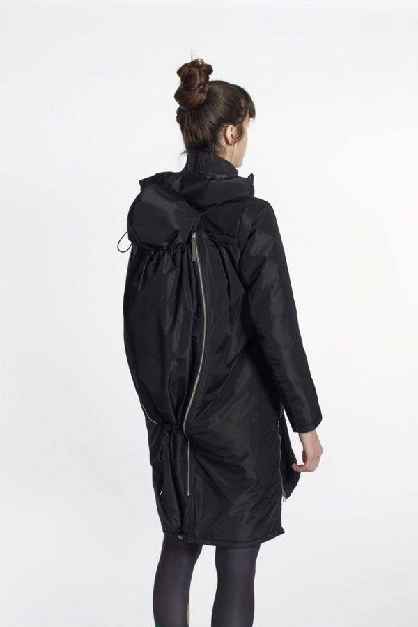 Nosiaci zimný kabát so zipsami a reflexnými prvkami 4v1 9