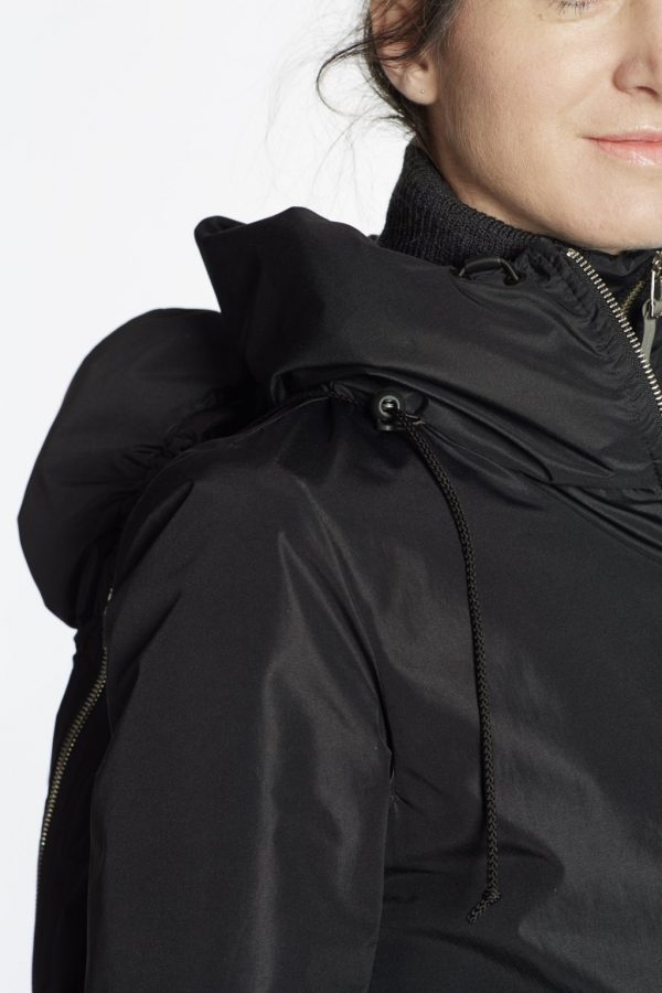 Nosiaci Raincoat zimný (veľmi teplý) - 3v1 (predné nosenie) 7