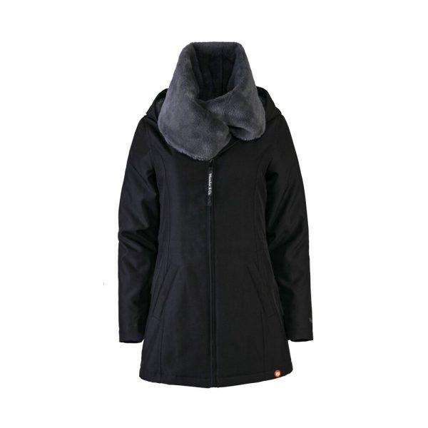 Zimná nosiaca a tehotenská bunda WALLABY 2.0 Black & Charcoal Grey 7