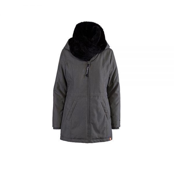 Zimná nosiaca a tehotenská bunda WALLABY 2.0 Grey & Black 6