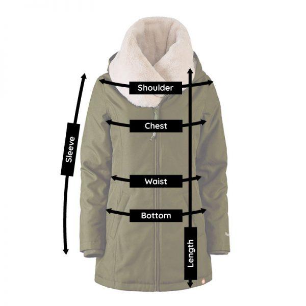 Zimná nosiaca a tehotenská bunda WALLABY 2.0 Black & Charcoal Grey 2