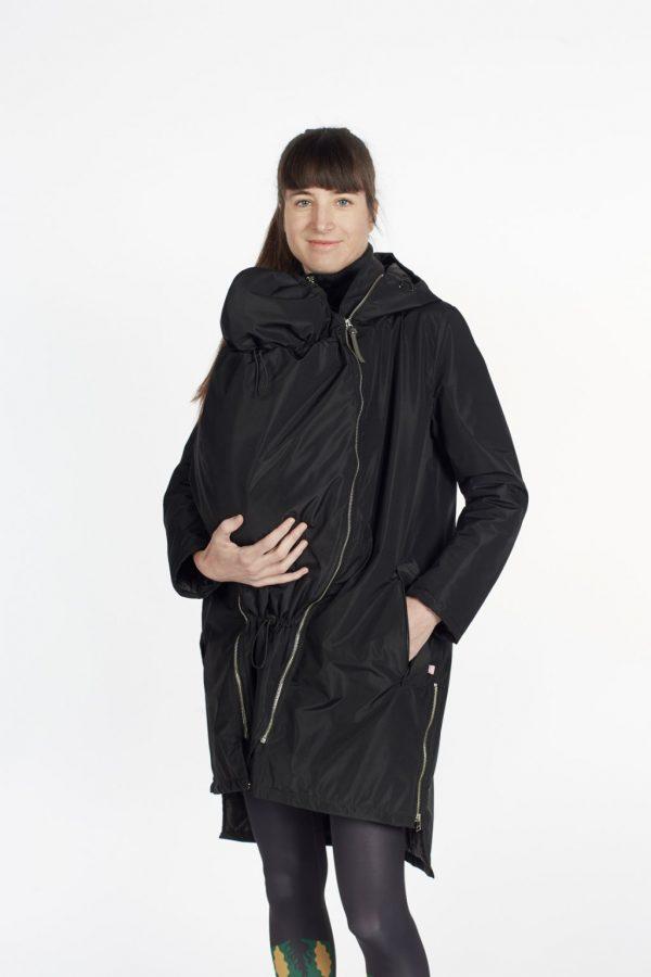 Nosiaci zimný kabát so zipsami a reflexnými prvkami 4v1 7