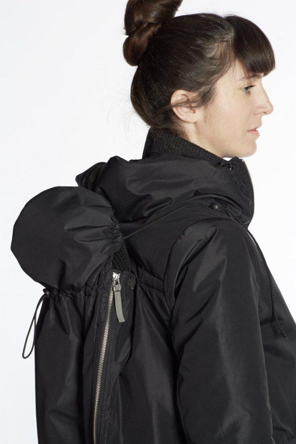 Nosiaci zimný kabát so zipsami a reflexnými prvkami 4v1 6