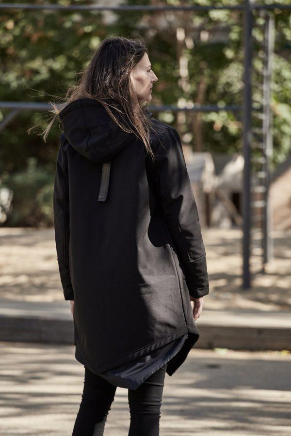 Nosiaci Raincoat zimný (veľmi teplý) - 3v1 (predné nosenie) 5