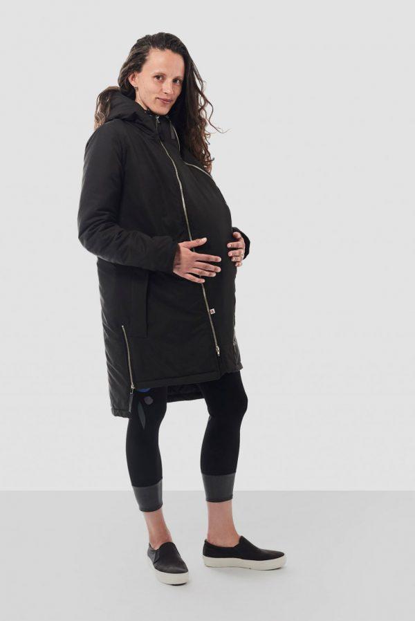 Nosiaci zimný kabát so zipsami a reflexnými prvkami 4v1 5