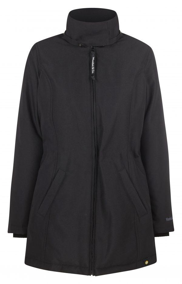 Zimná nosiaca a tehotenská bunda WALLABY 2.0 Black & Charcoal Grey 5