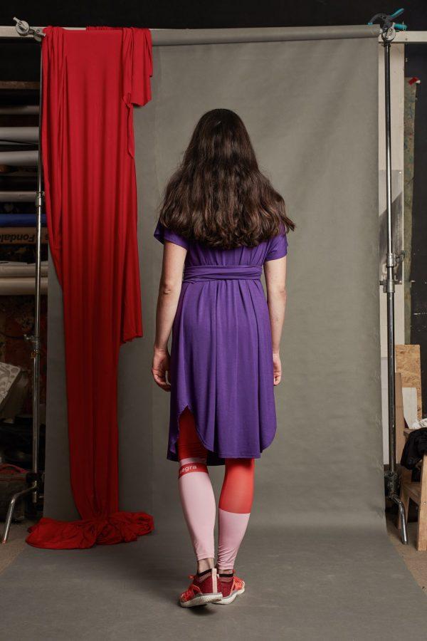 Zavinovacie šaty 3v1 2