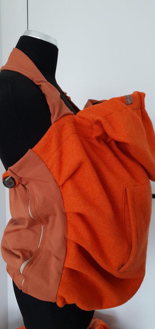 Dizajnová kapsa NIJE vlnená - jednofarebné varianty 10