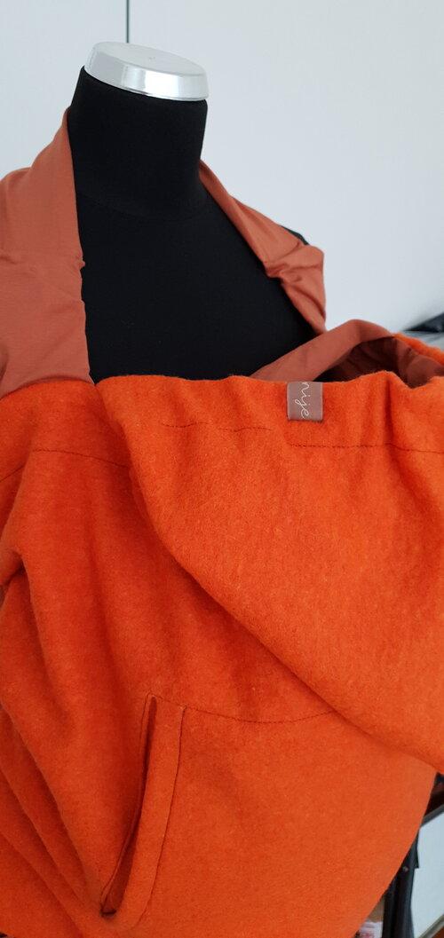 Dizajnová kapsa NIJE vlnená - jednofarebné varianty 8