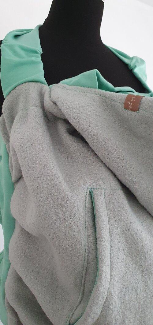 Dizajnová kapsa NIJE vlnená - jednofarebné varianty 4