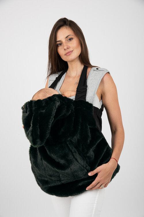 Dizajnová kapsa NIJE faux fur (umelá kožušina) 1