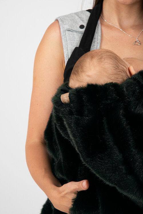 Dizajnová kapsa NIJE faux fur (umelá kožušina) 2