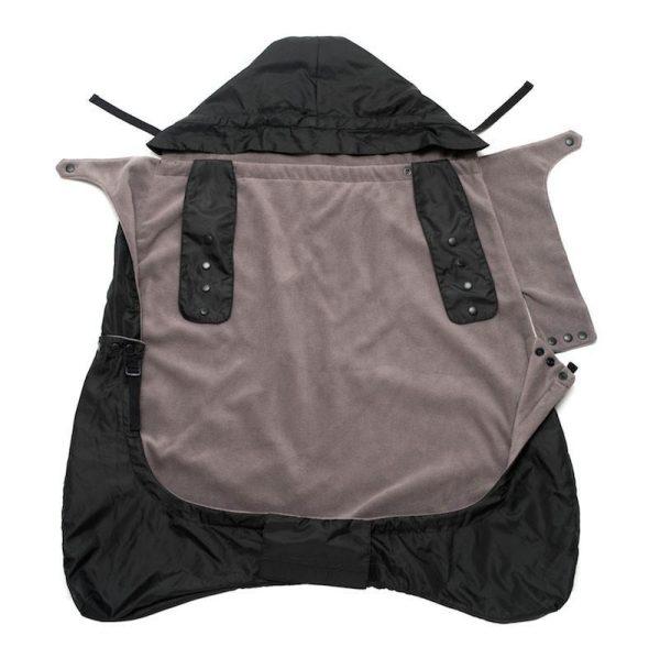 ERGOBABY Zimná ochranná kapsa 2v1 - BLACK 2