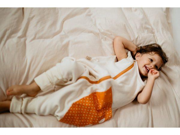 Celoročný spací vak - etické merino 1