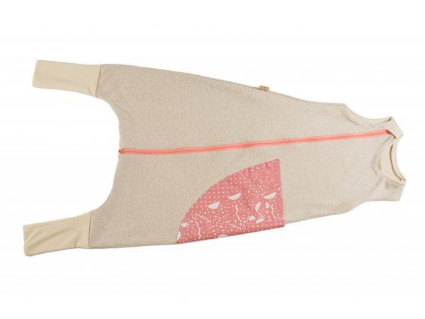 Celoročný spací vak ružový - DOPREDAJ 2