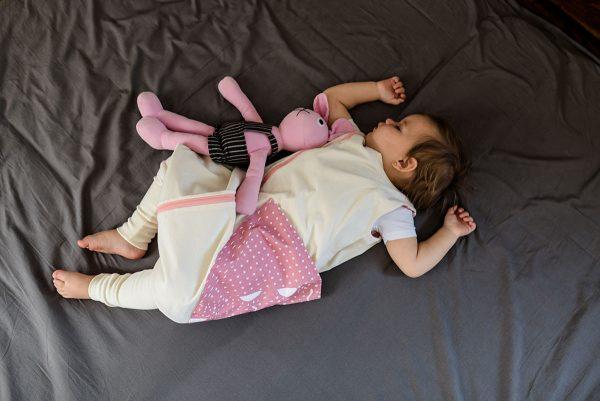Celoročný spací vak ružový - DOPREDAJ 1