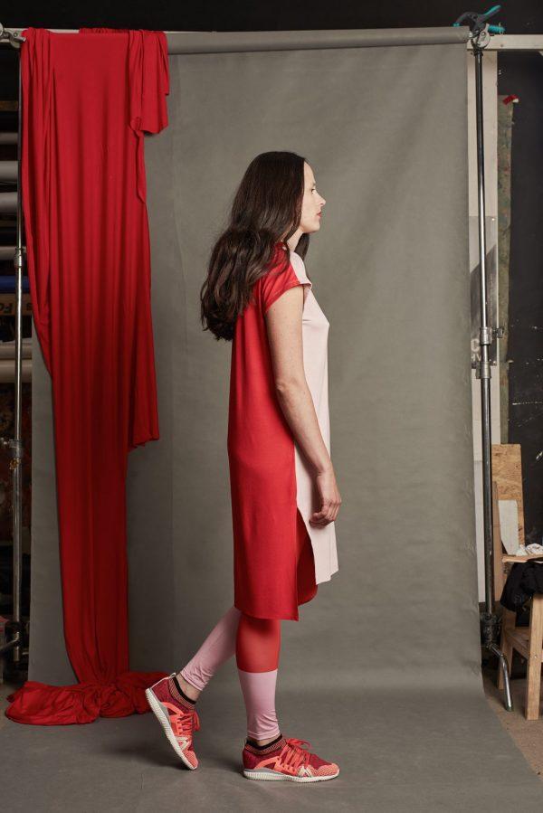 Dizajnové šaty s pásikom 3
