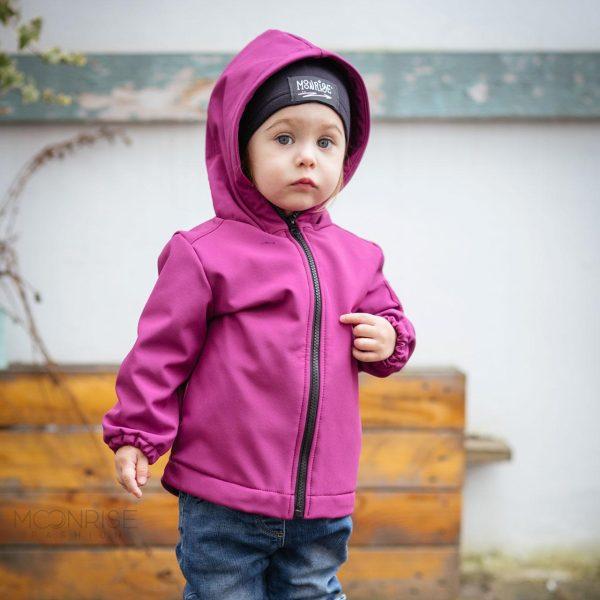 Detská softshellová bunda - lollipop 1